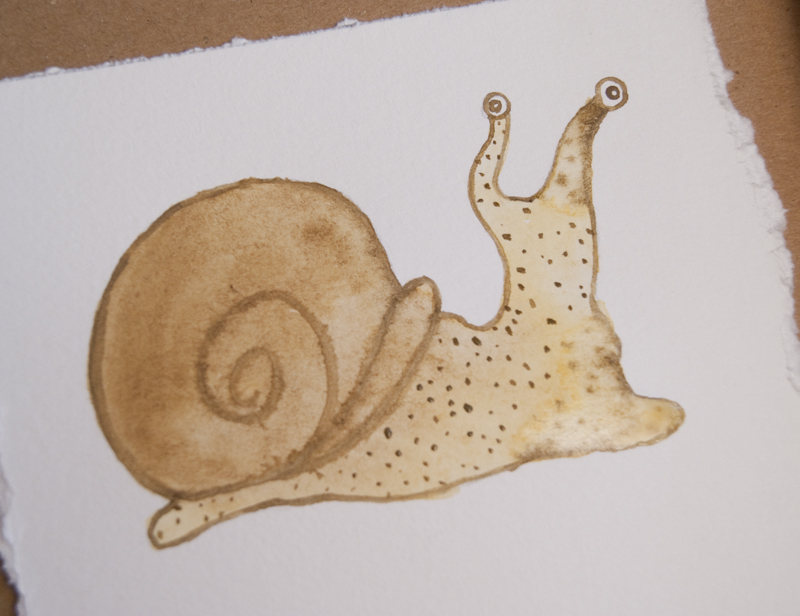watercolor snail tutorial 20