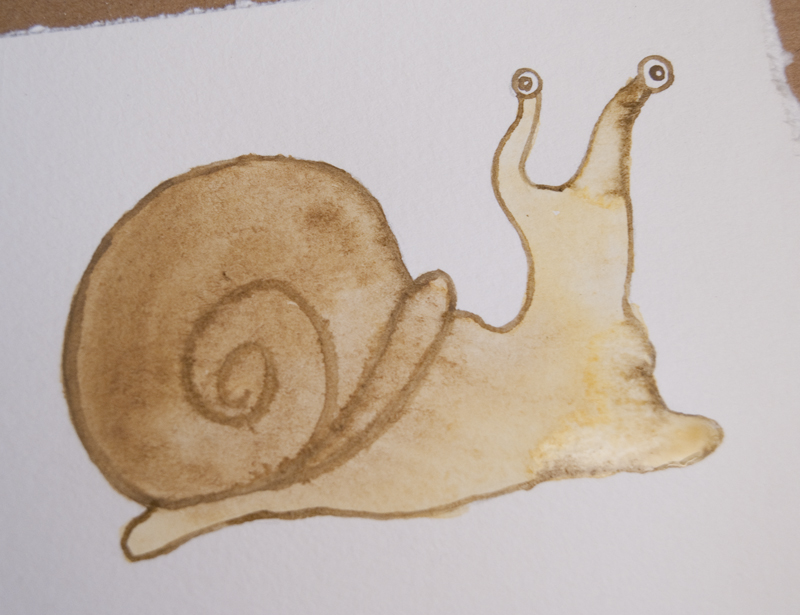 watercolor snail tutorial 19