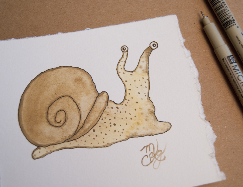 watercolor snail tutorial 22
