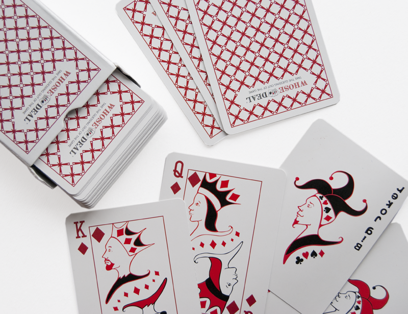 Whose Deal Playing Cards