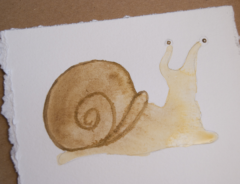 watercolor snail tutorial 17