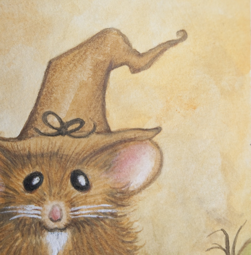 Mouse Wizard Illustration