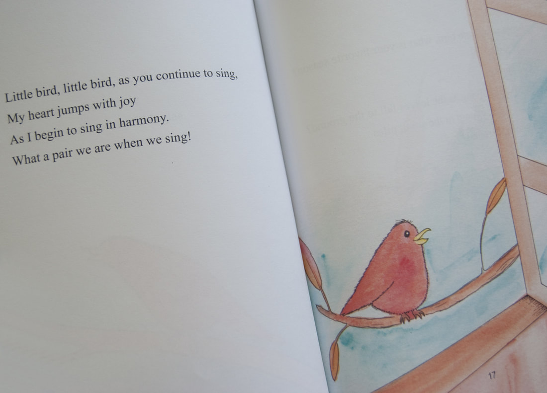 LITTLE BIRD POETRY BOOK BY LONI HOOTS ILLUSTRATED BY MELISSA ROHR