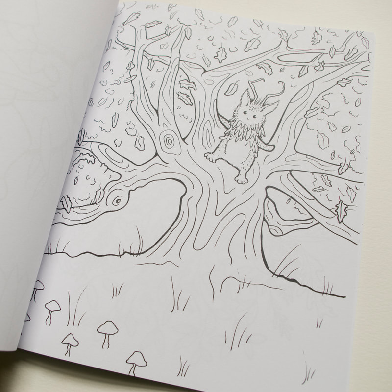 Nature Spirit Coloring Book by Melissa Rohr